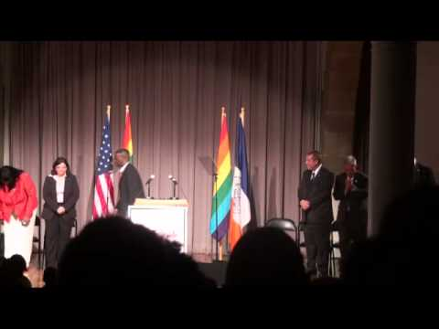 Whoopi Goldberg speaks at 2012 NYC Council Pride Event