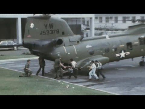 U.S. Evacuation and Fall of Saigon During the Vietnam War