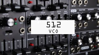 Using the Roland SYSTEM-500 modular series (VCO)