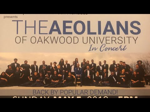 The Aeolians Of Oakwood University Free Concert In San Francisco May 5th, Third Baptist Church