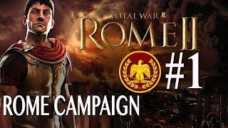 Total War: Rome 2 - Roman Campaign #1
