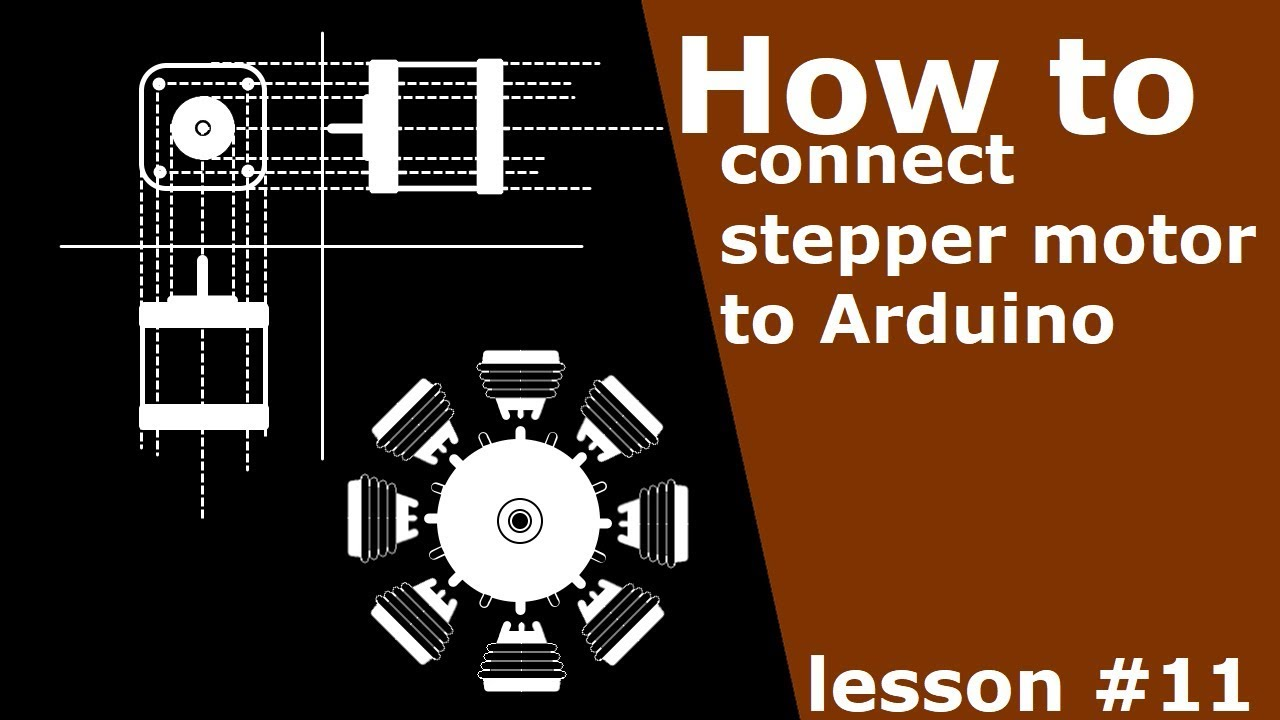 How To Connect 5 Wires Stepper Motor Arduino Diy 8 Wire Wiring Diagram Lessons