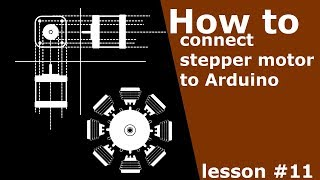 HOW TO CONNECT 5 WIRES STEPPER MOTOR TO ARDUINO | DIY | ARDUINO LESSONS