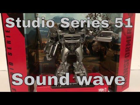 Studio Series 51 Soundwave