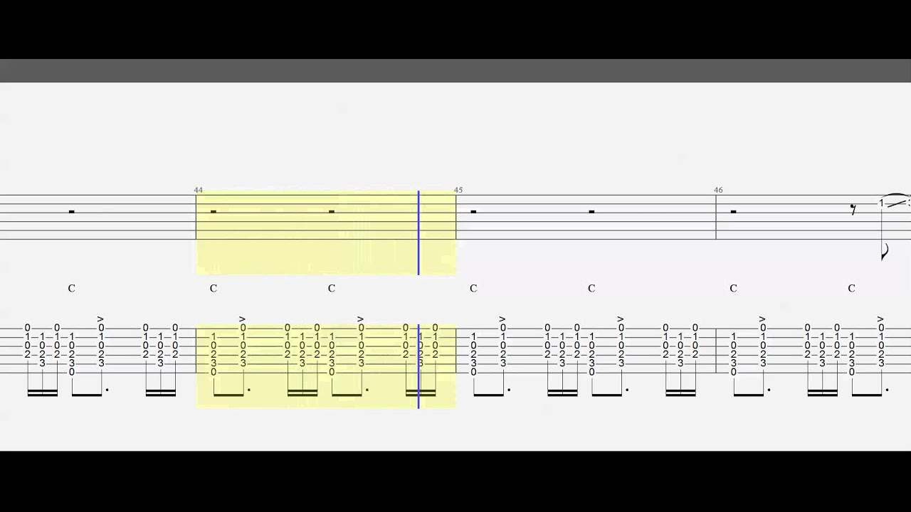 Guitar Tab Guitar Chords I Will Wait Melody And Chords
