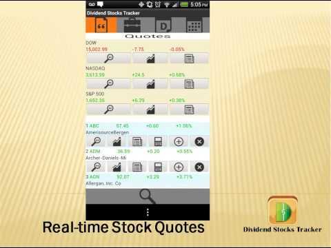Dividend Stocks Tracker Promo Video - YouTube