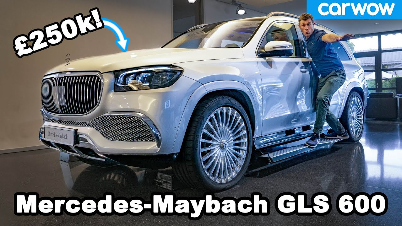 Mercedes-Maybach GLS 600 — see why it's the German Rolls-Royce Cullinan!