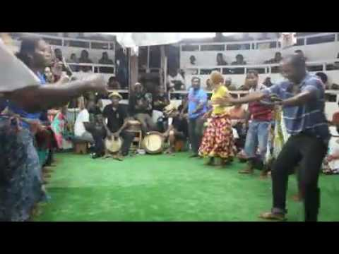 African sex dance on drums thumbnail