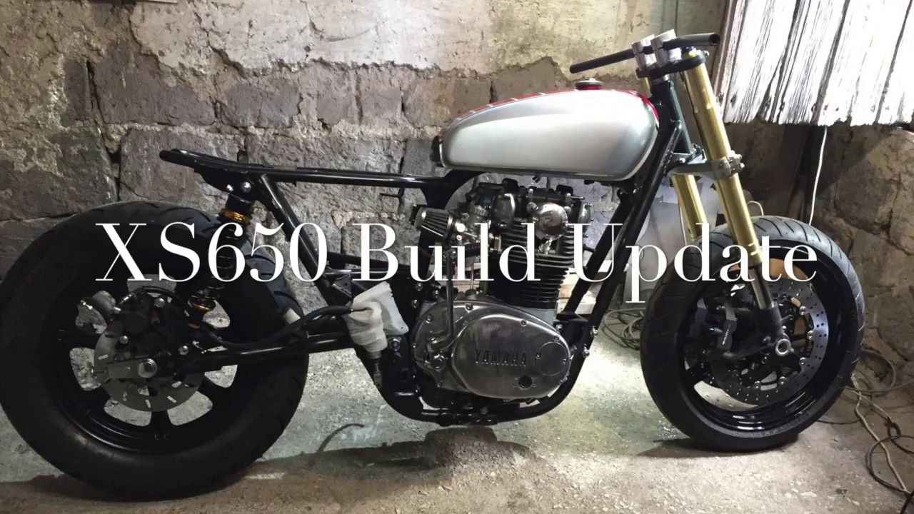 XS650 Tracker Cafe Racer Build Update