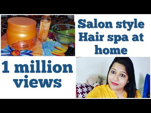 How To Do Hair Spa At Home With Matrix