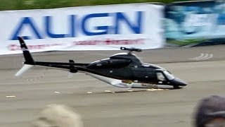RC HELICOPTER CRASH !!! GIANT SCALE VARIO RC BELL 430 MODEL HELICOPTER *1080p60fpsHD*