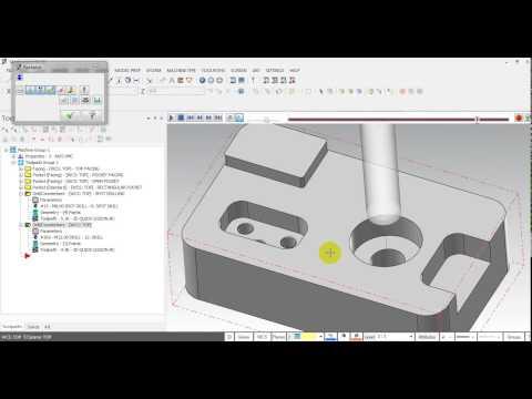 MASTERCAM QUICK LESSON: 2D MACHINING USING SOLID DATA