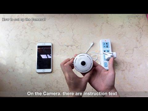 GatoCam 360° Fish Eye Wifi Panoramic Camera Test Video