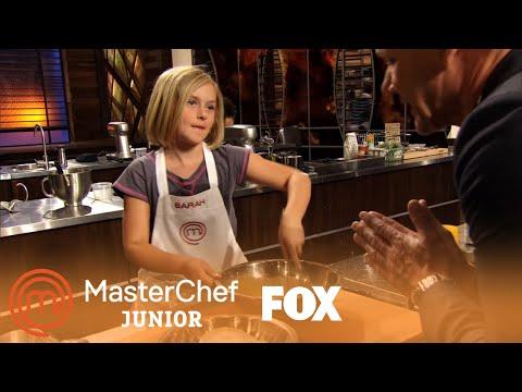 Extended Scene: Sarah's Molten Lava Cake | Season 1 | MASTERCHEF JUNIOR