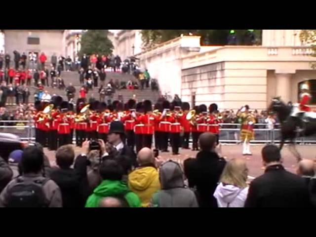 London Ceremonial for Indonesia State Visit - October 2012
