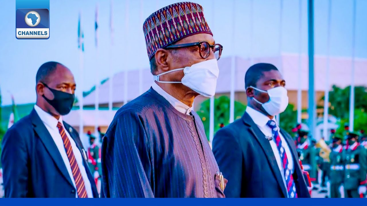 Download President Buhari Returns From London After 18 Days