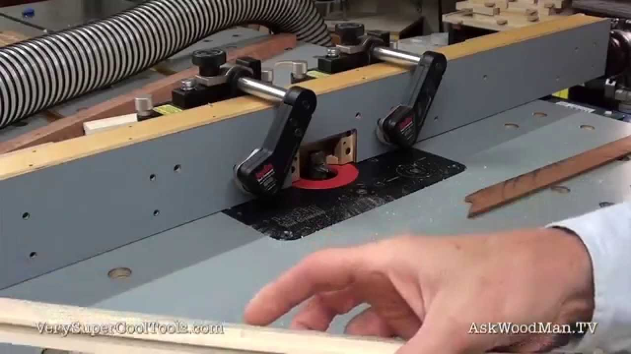 855 Diy Router Fence With Dust Collection Cutting Demo Youtube