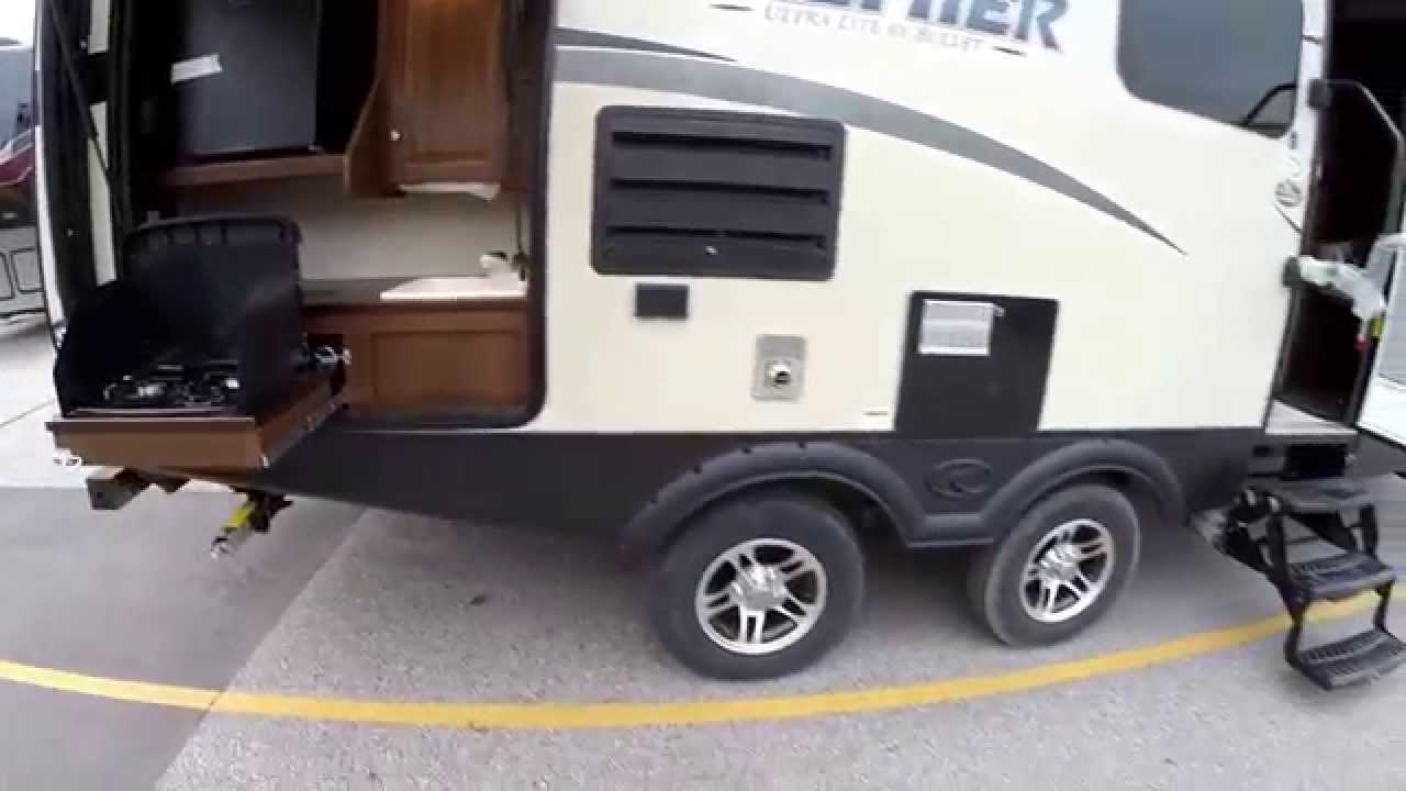 Small Travel Trailer With Outdoor Kitchen