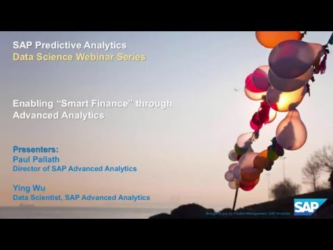 SAP Predictive Analytics: Enabling Smart Finance Through Adv