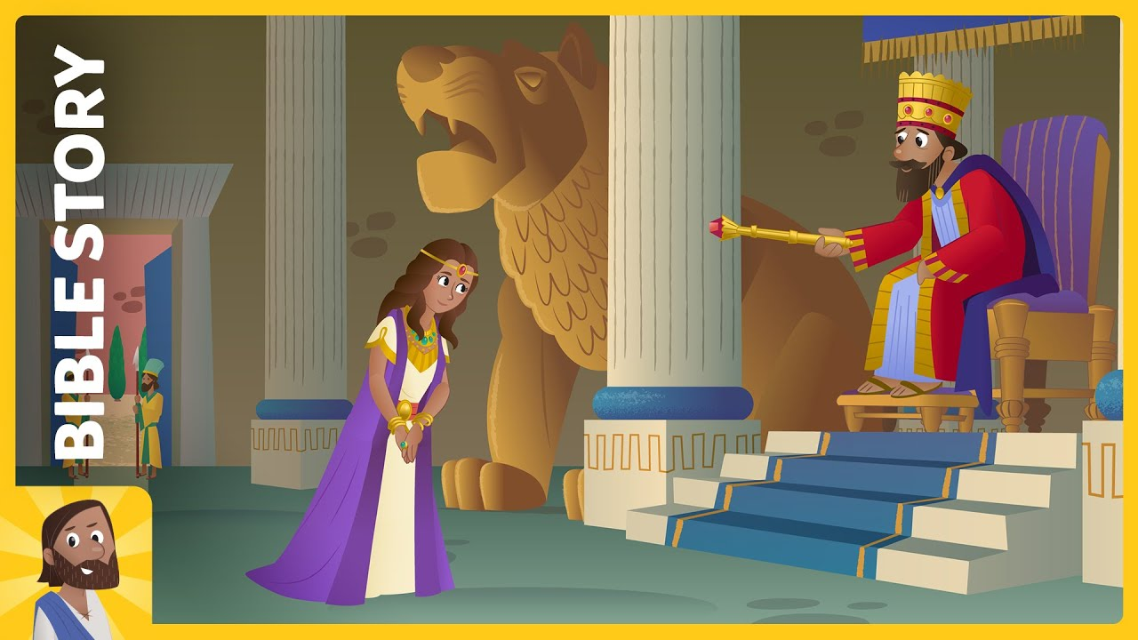 Bible App for Kids - The Brave and Beautiful Queen - YouTube