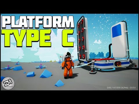 Large PLATFORM TYPE C! Astroneer Update 6.5 Gameplay E2 | Z1 Gaming