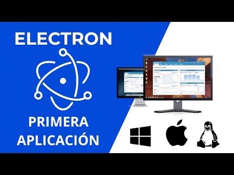 Electron.js Aplicaciones de Escritorio con HTML, Javascript y Node