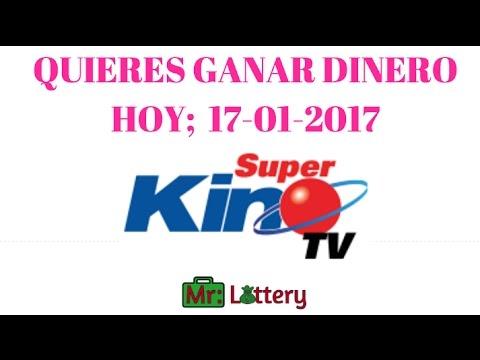 gana con el super kino tv la loteria nacional dominicana 17 01 2017