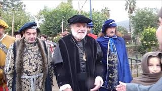 Llegada del Emperador Carlos V 2018 a Jarandilla de la Vera