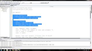 C++ Programming 61 - Dynamic Two Dimensional Arrays