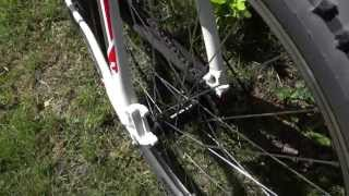 CUBE AIM 26 XC hardtail MTB - 2012 CMPT white'n'red review