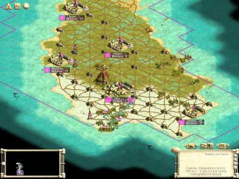 Civilization III : Francia - Capitulo 2 Colonias y Cultura (Gameplay Español)