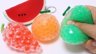 Fruit Orbeez Squishy Squeeze Toys