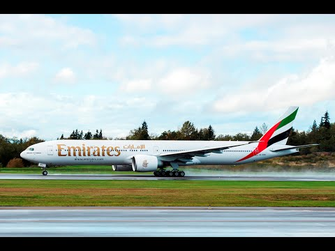 Delivery of Emirates' 100th Boeing 777-300ER | Emirates Airline