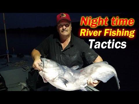 Beat the Heat,  Night time Post Spawn Catfishing Tactics