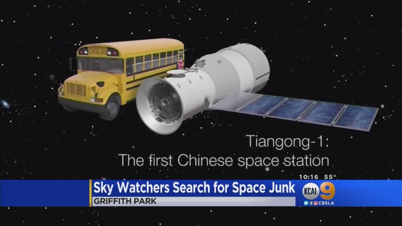 Griffith Observatory Sky Watchers Search For Space Junk