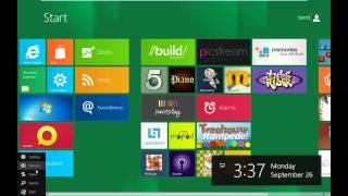 Windows 8 Developer Preview Test