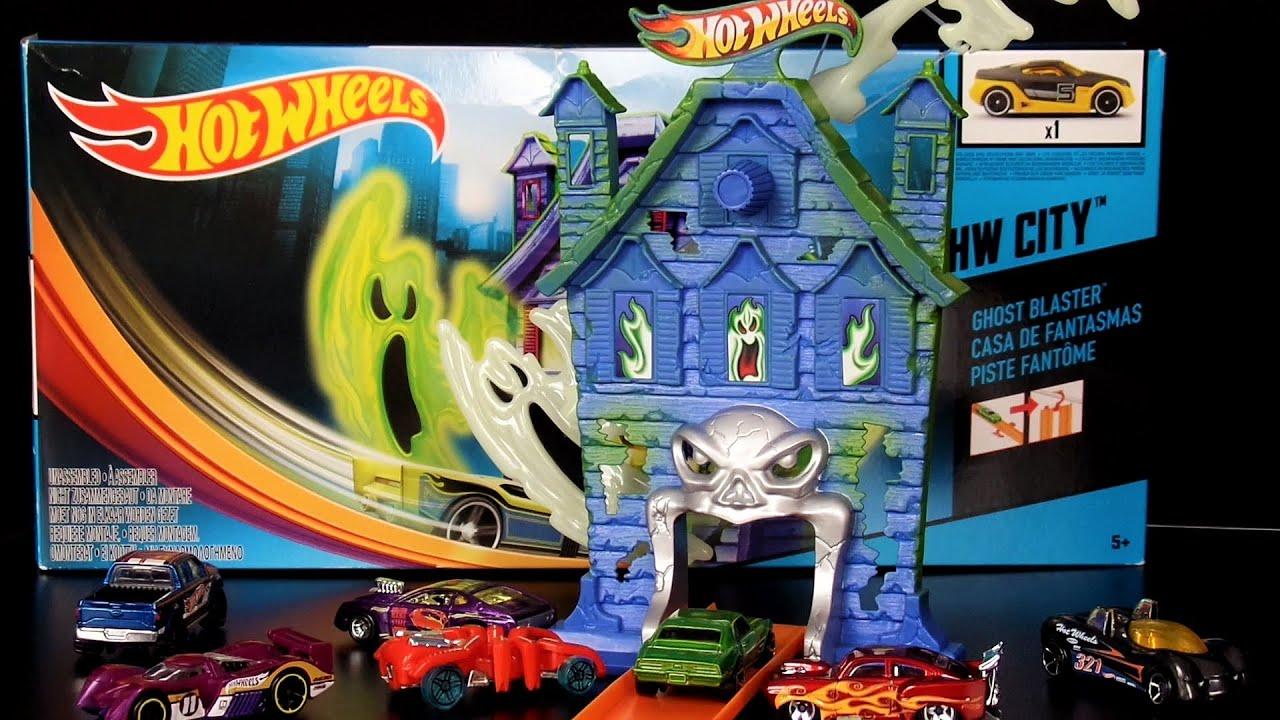 hot wheels city set deutsch spielzeug geisterbahn ghost. Black Bedroom Furniture Sets. Home Design Ideas
