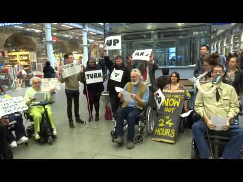Turn-Up-And-Go assistance: action by TfA's members at St Pancras International