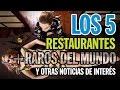 TOP 5 - LOS 5 RESTAURANTES MAS RAROS DEL MUNDO Y OTRAS NOTICIAS DE INTERÉS