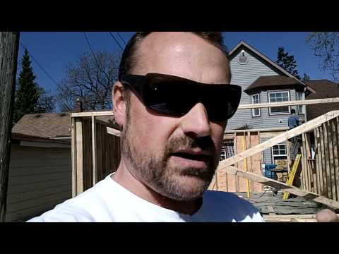 Garage Build Part 8 - Framing the Garage