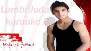 Instrumental karaoke lambi Judai (jannat) By Wajahat Jawaid
