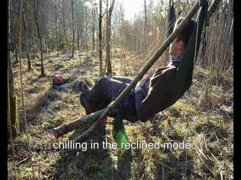 Back Pack Chair Folding Effect Review: Outdoorlounge (diy Camp Chair) - Youtube