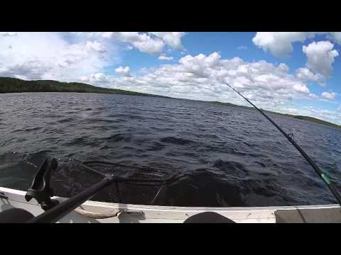 op snoek in Dalsland 2014/pike fishing in Dalsland