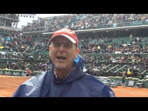 Rain Delay At Roland Garros