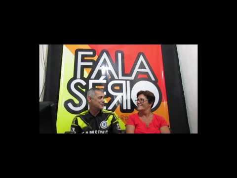 FALA SÉRIO ONLINE - VIVENDO NA ESPANHA - COM CÉLIA GUSMAN