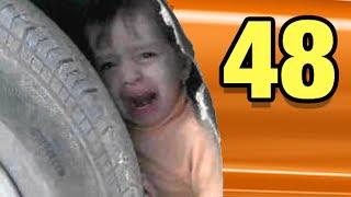 Olmadık Yerlere Sıkışan 48 Şanssız Çocuk