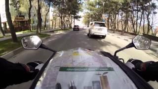 Мото езда по Новороссийску