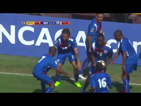 Bermuda Goals At CONCACAF U20 Championships, Feb 2017