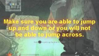 MW2 Get out of skidrow shotgun jump tutorial