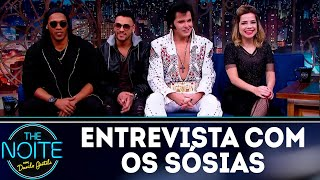 Baixar Entrevista com os sósias de Neymar, Ronaldinho Gaúcho, Sandy e Elvis Presley | The Noite (23/07/18)